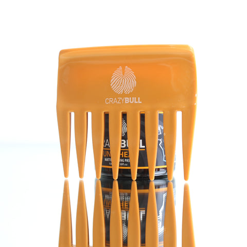 Crazy Bull Limited Edition Orange Wide Streaker Comb