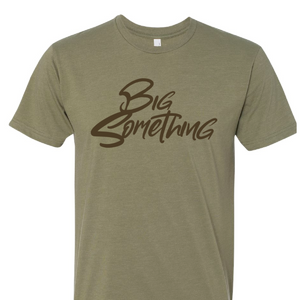 T-SHIRT: Olive Green Unisex