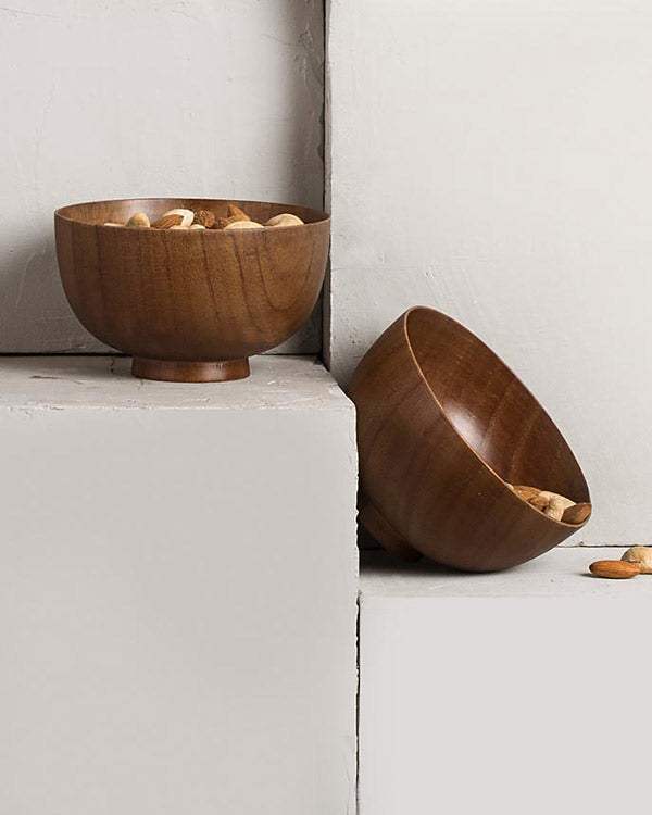 Mokuzai Nut Bowl (Set of 2)