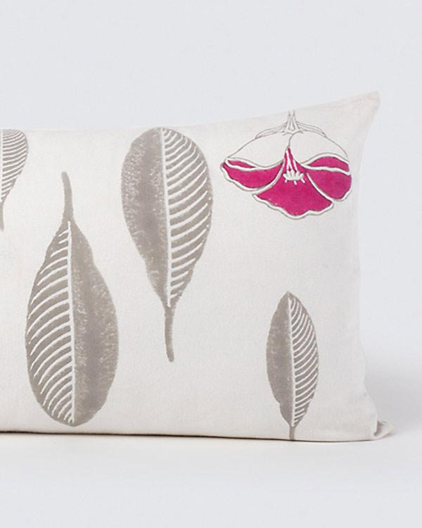 Frangipani Foliage Cushion