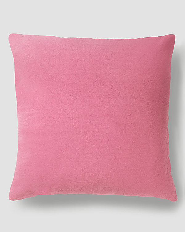 Tangier Velvet Cushion - Blush