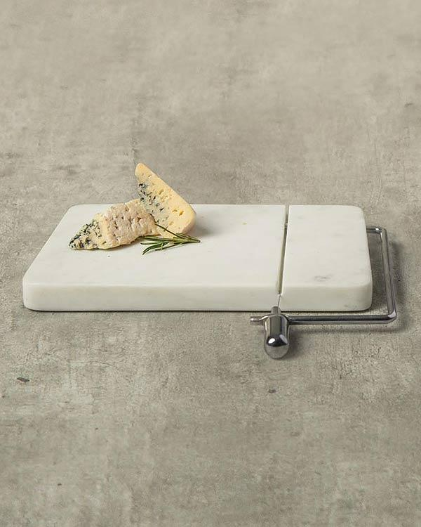 Marble Cheese Board with Slicer