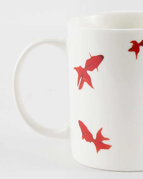 Guppy Shup Flame Mug - Red