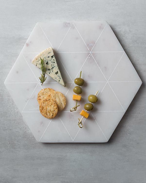 Hexa Cheese Board
