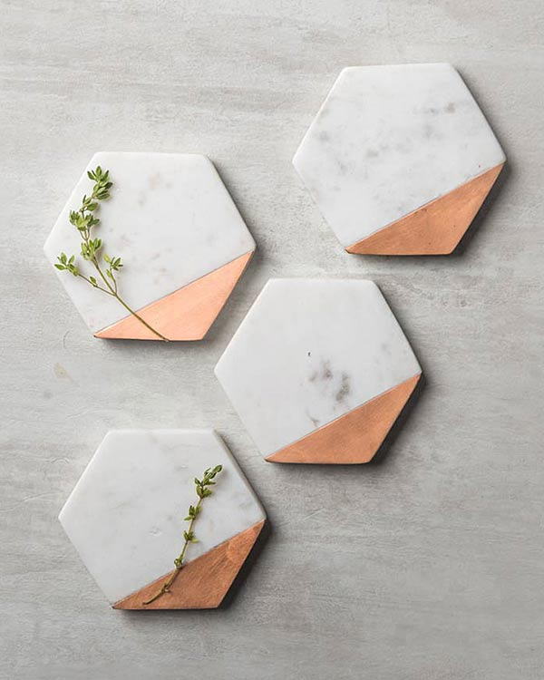 Hexa Coasters (Set Of 4)
