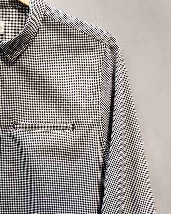 Paradise Check Shirt - Black & White