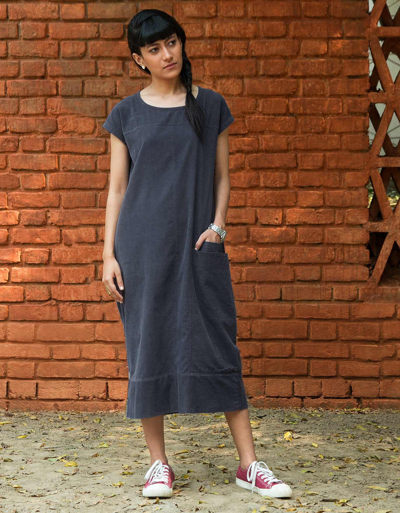 Shibui Dress - Indigo