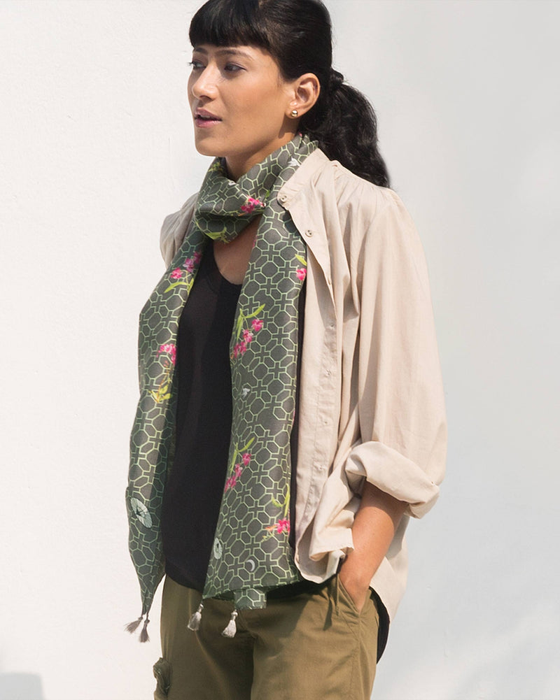 The Trellis Scarf