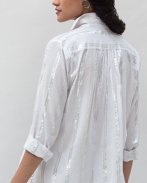 Cantonese Collar Top