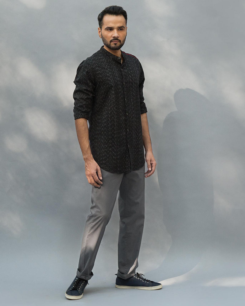 Oxford Jammies - Charcoal