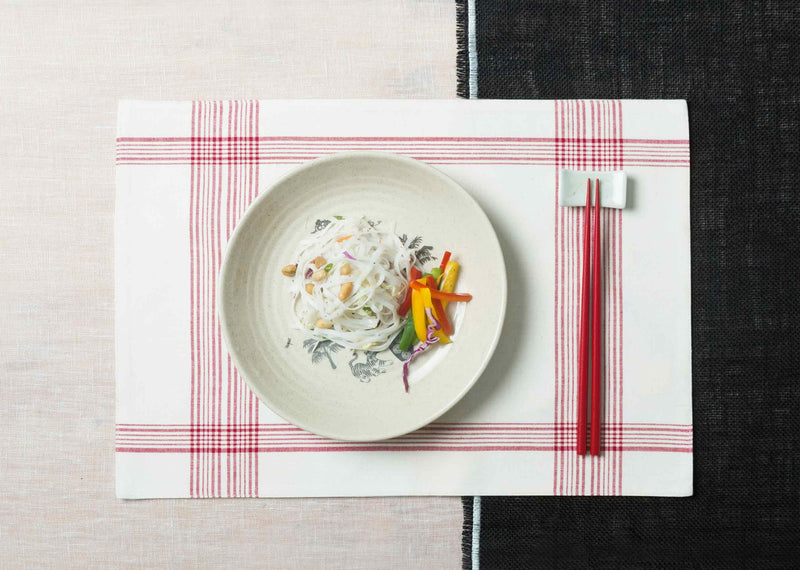 Riku Placemat (Set Of 2) - Red