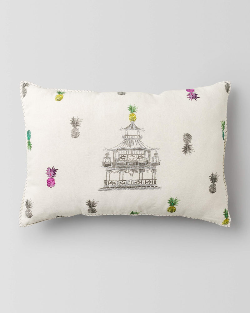 Pagoda Lumbar Pillow
