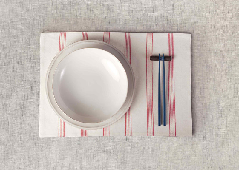 Shima Placemat (Set of 2) - Ivory