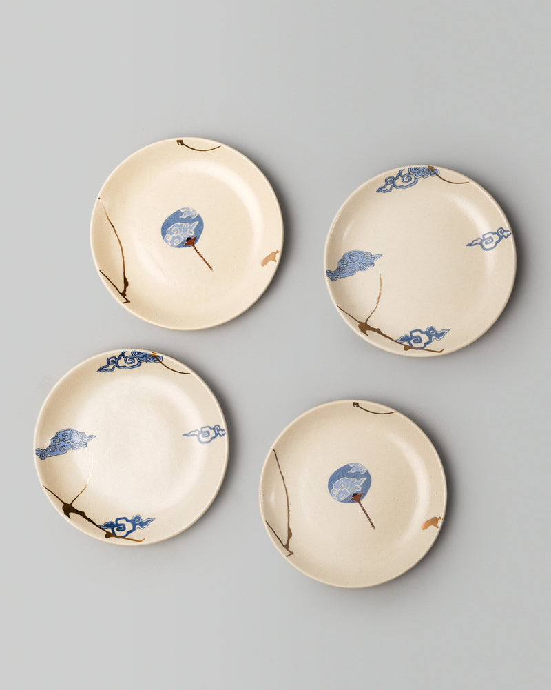 Kumo Tapas Plate ( Set of 4)