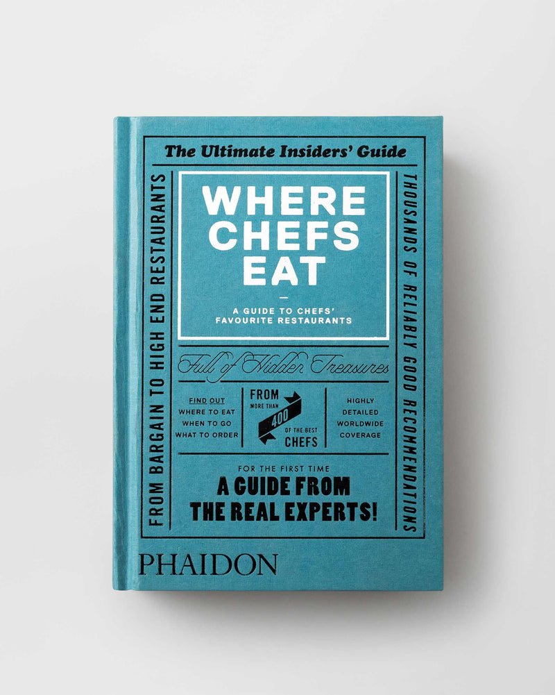 Where Chefs Eat: A Guide to Chefs' Fav Rest