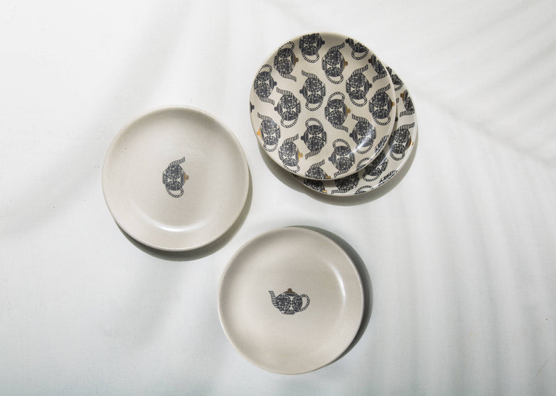 Teapot Tea Plate (Set of 4)