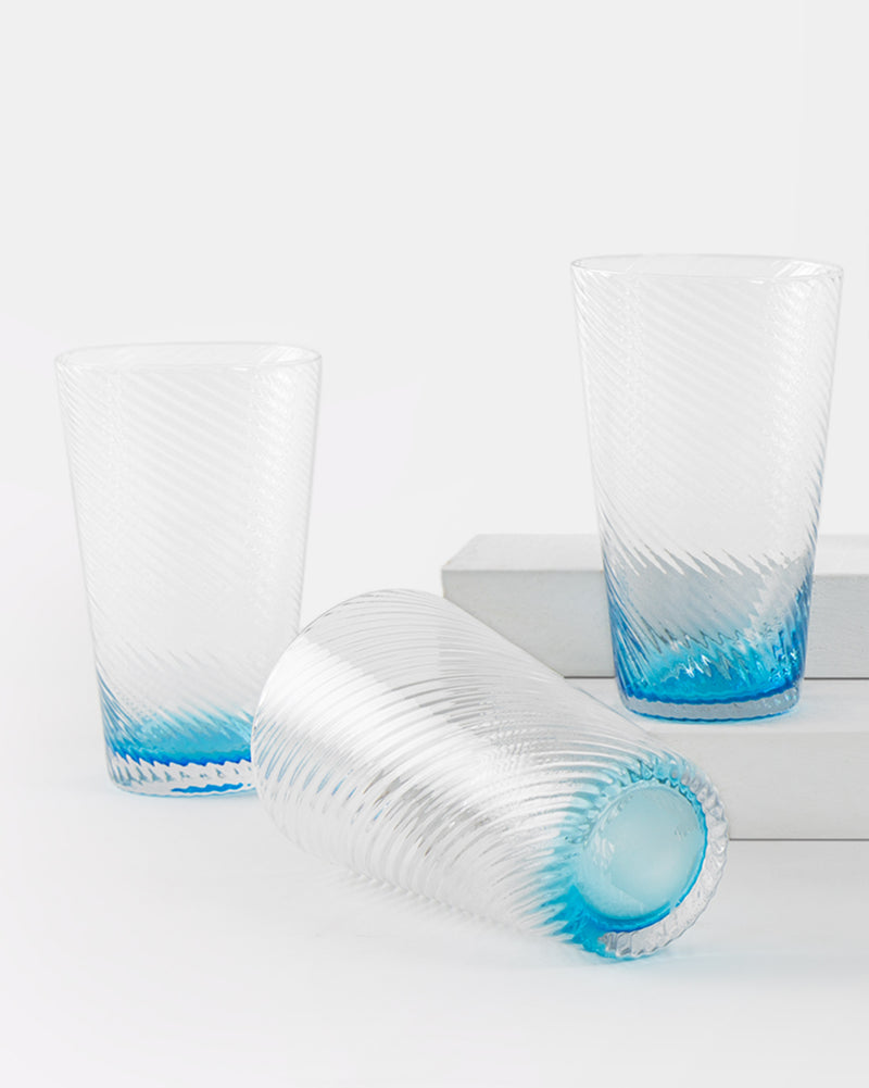 Casablanca Glass (Set of 6) - Turquoise