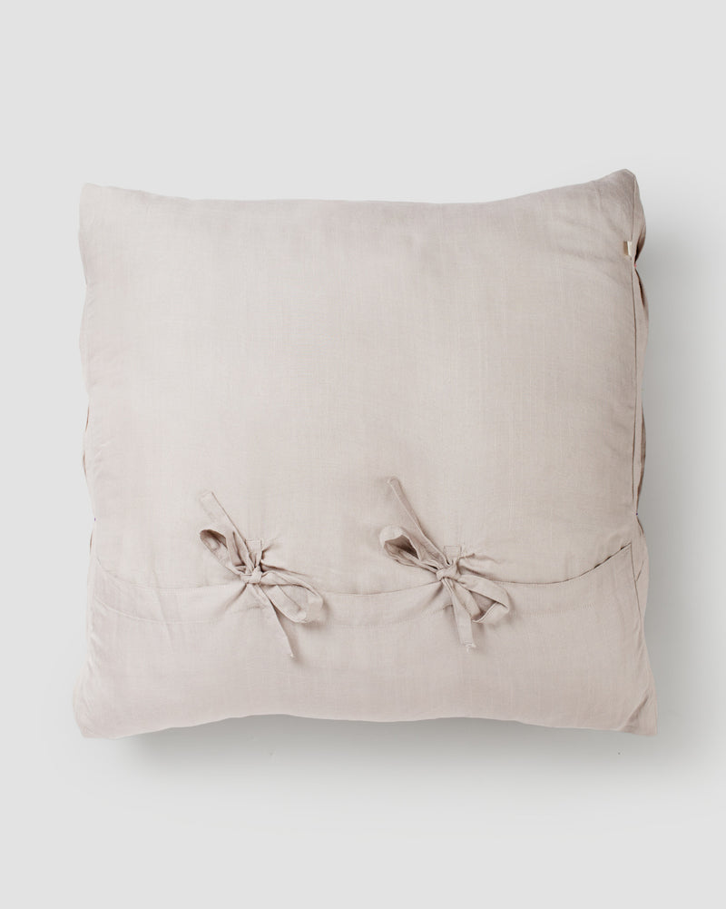 Tangier Textured Cushion - Taupe