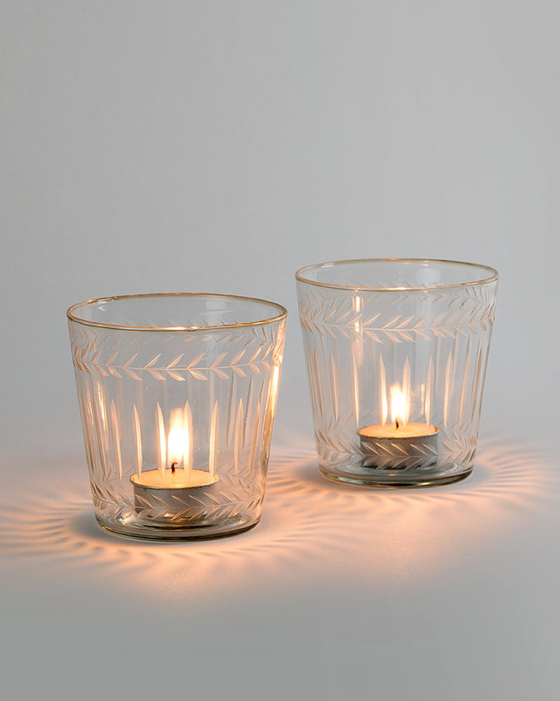 Laurel Votive (Set of 2)