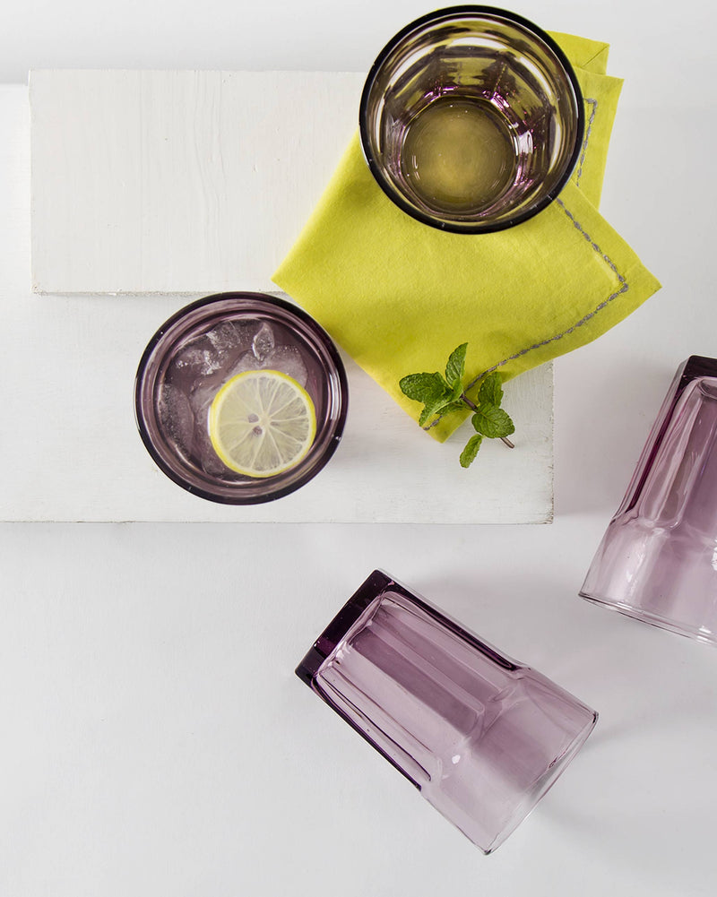 Anjuna Tumbler (Set of 4) - Amethyst