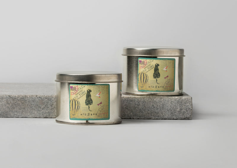 Travel Tin Candle (Set of 2) - Anglesey
