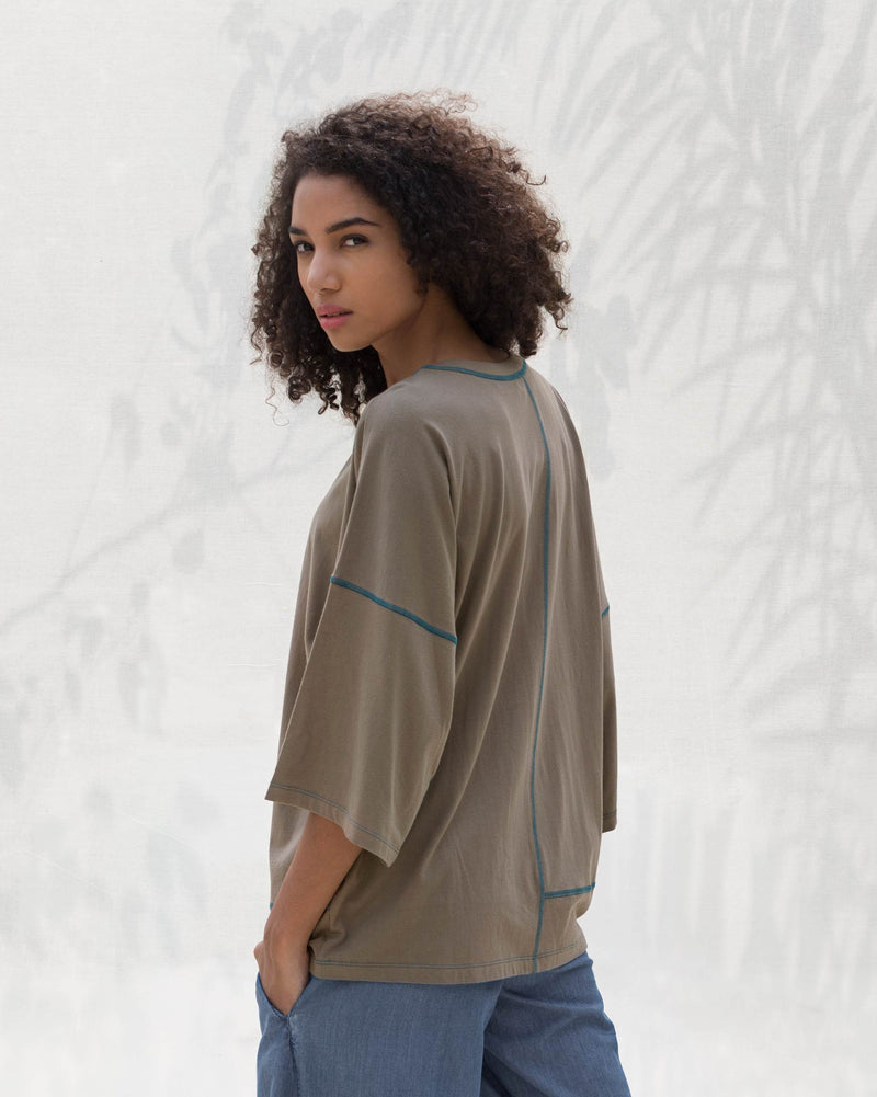 The Layover Top - Brown