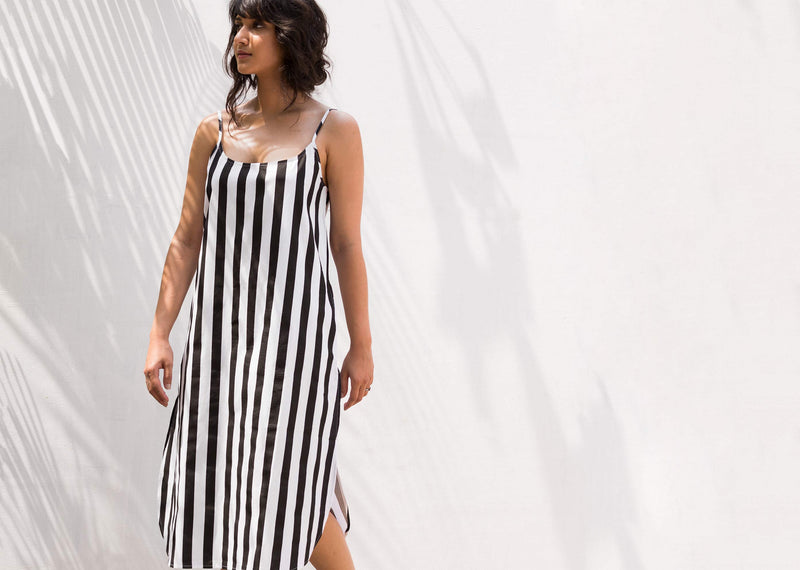 Slip Stripe Dress