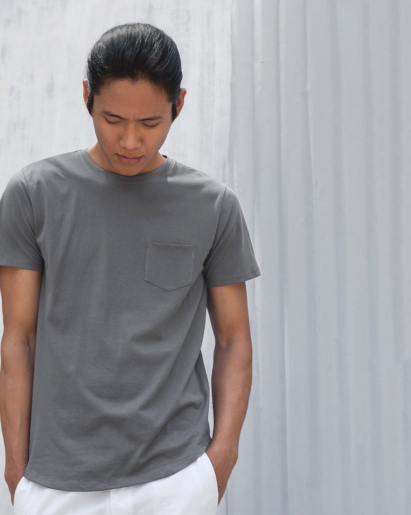 Pocket T-shirt - Charcoal