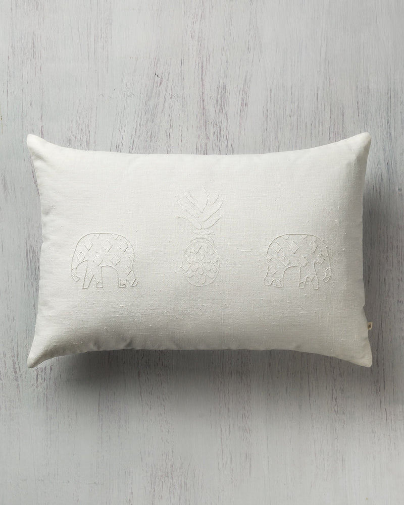 Pineapple Pillow - Ivory