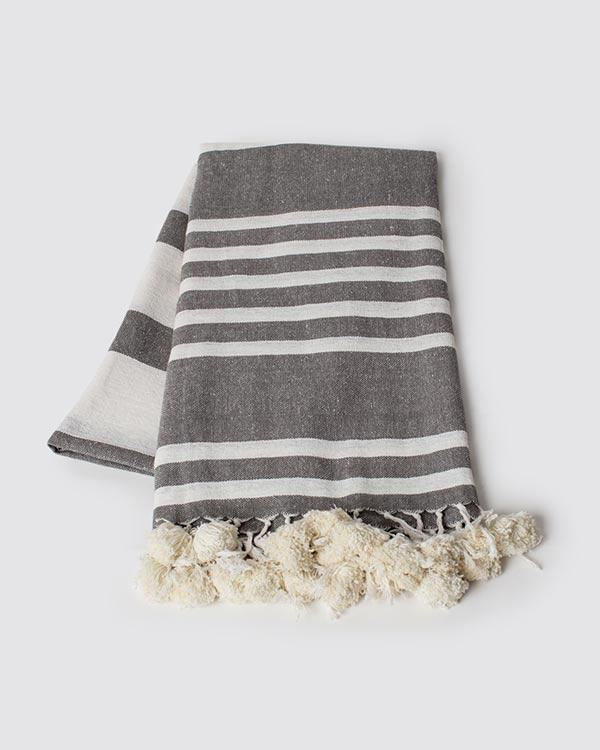 Woven Stripes Throw