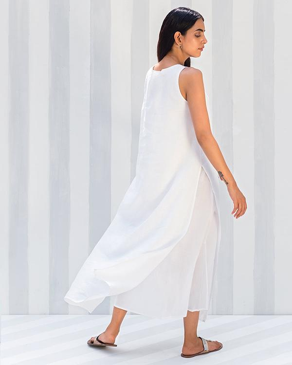 Gimlet Dress - White