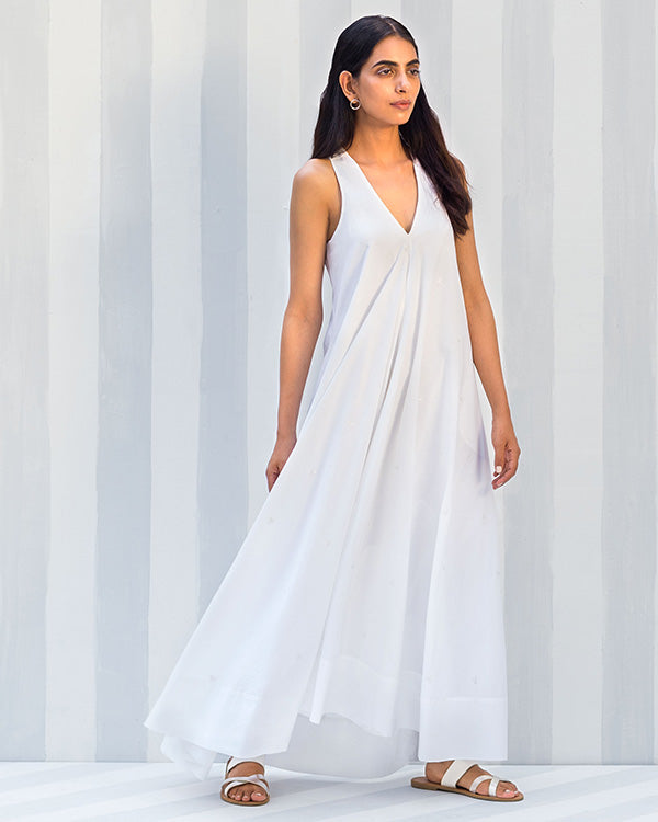 Goa Maxi Dress - White