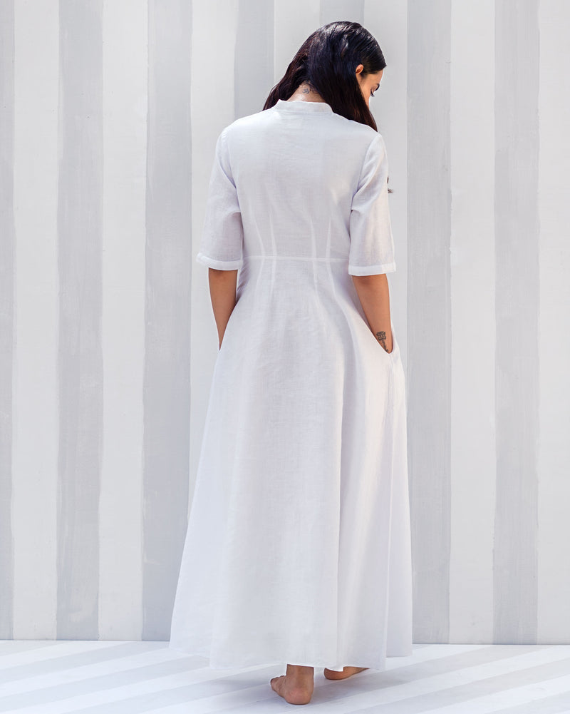 Ampara Dress - White