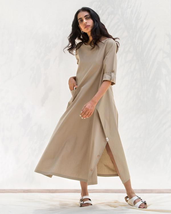 The Drapey Tunic - Silver Sage