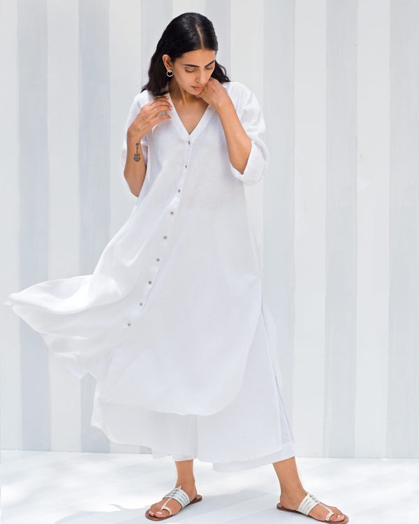 Breeze Kurta - White