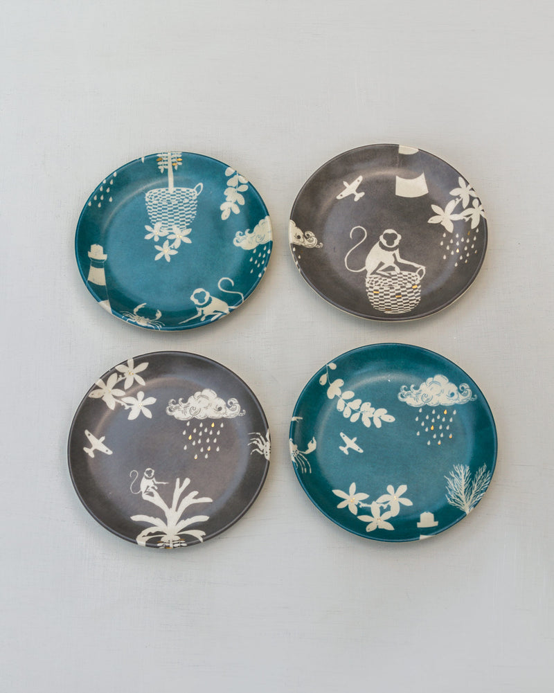 Nancowry Tea Plate (Set of 4)