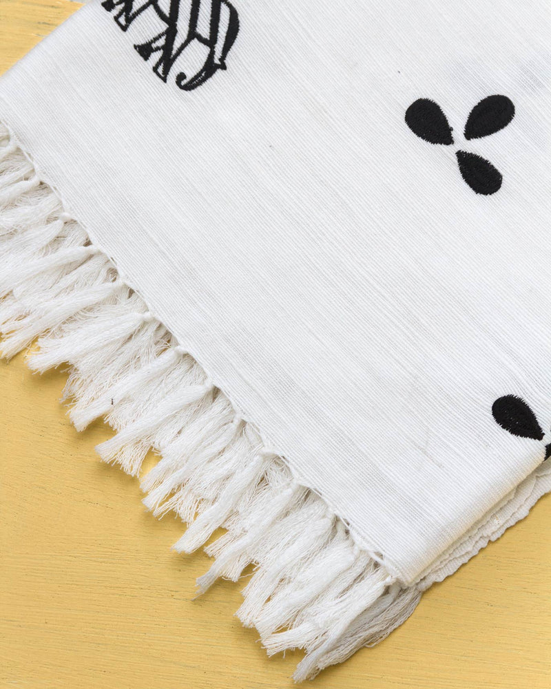 Colombo Throw - White