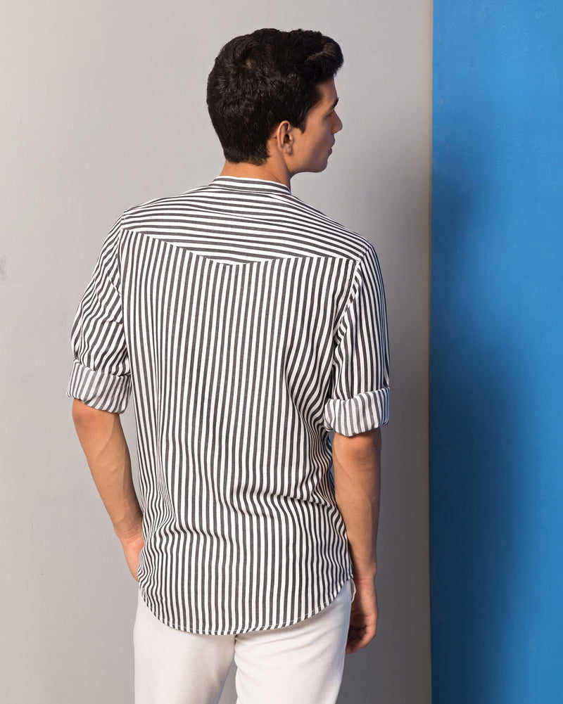 Pondicherry Stripe Shirt - Multi