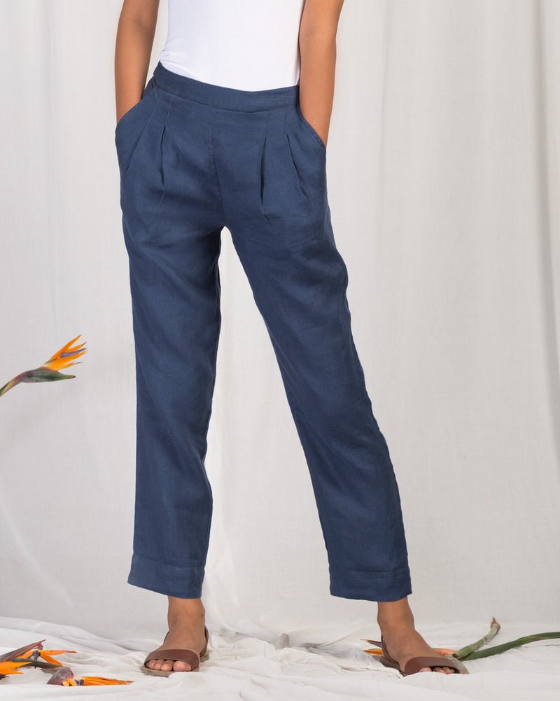 Narrow Pants - Blue