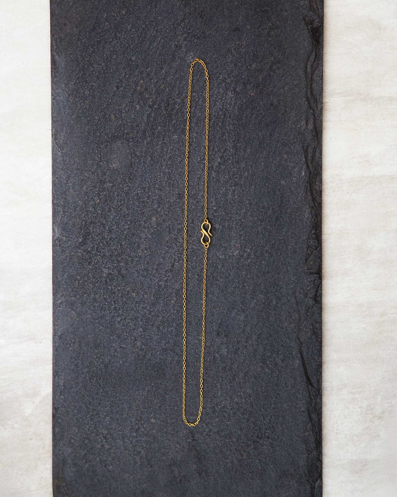 Gold plated chain - small