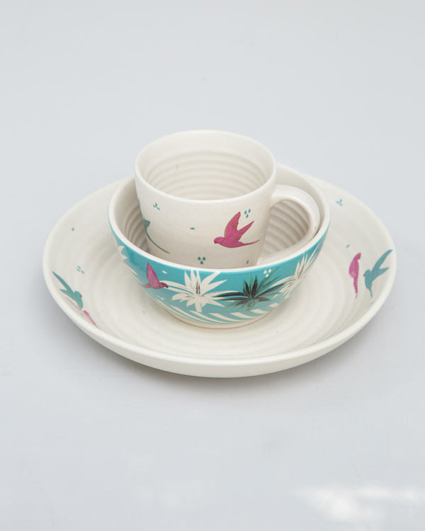 Parakeet Breakfast Set (Set of 3)