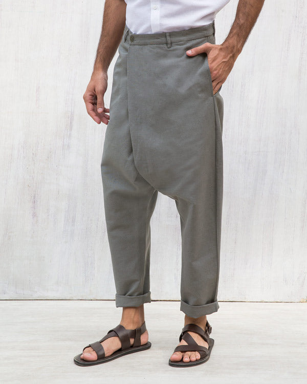 Slouchy Pants - Charcoal