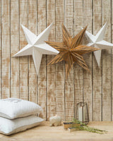 Gold Paper Star (Set of 3)