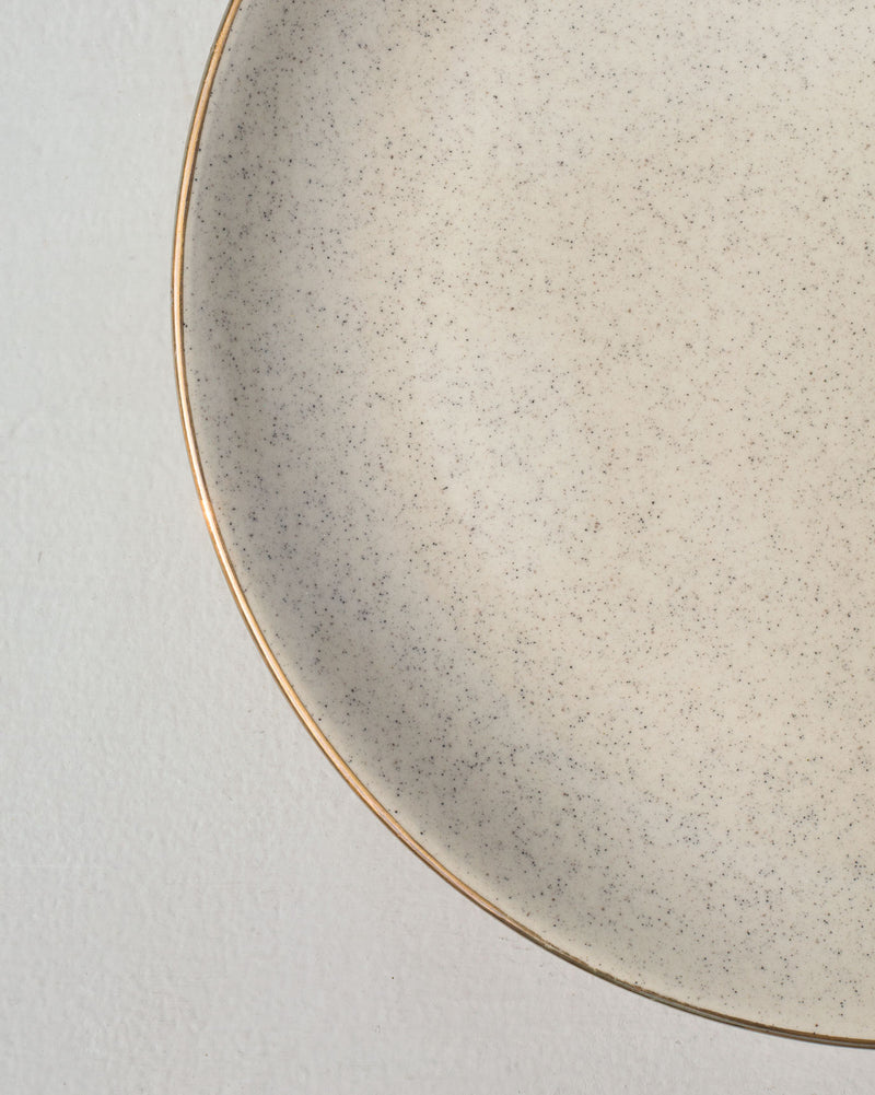Speckle Sand Dinner Plate
