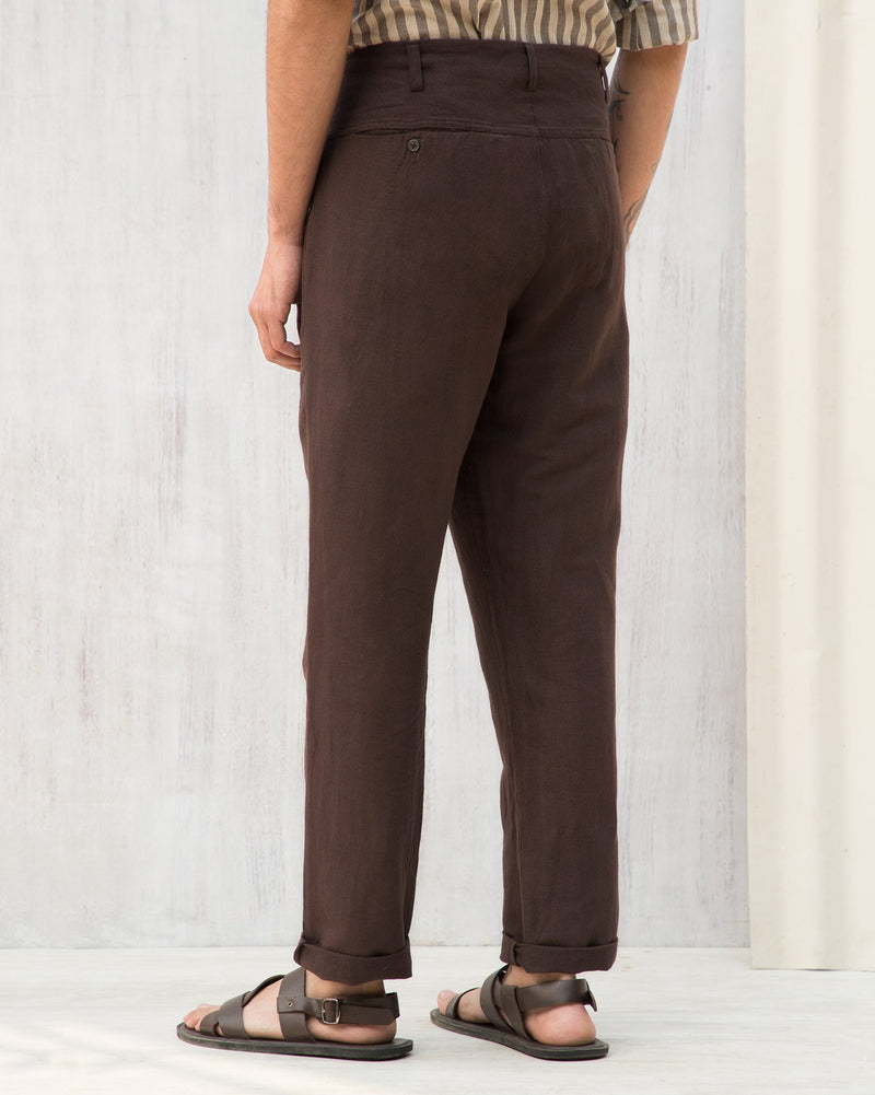 Vintage Trousers - Brown