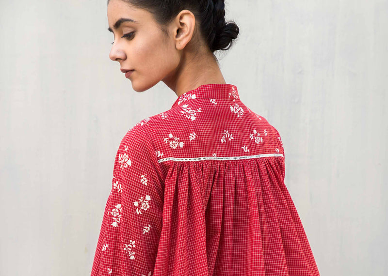 Back Gathered Top