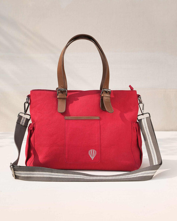 The Perfect Work Bag - Red