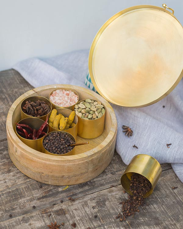 Diamantina Spice Box