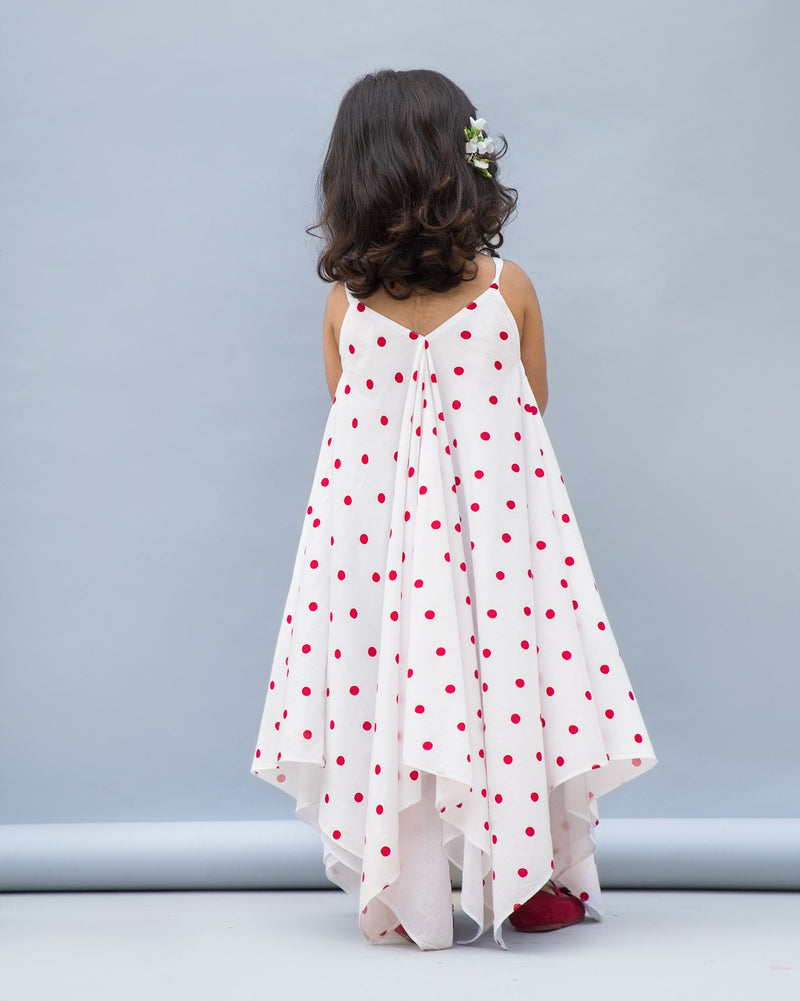 Little Reversible Handkerchief Dress