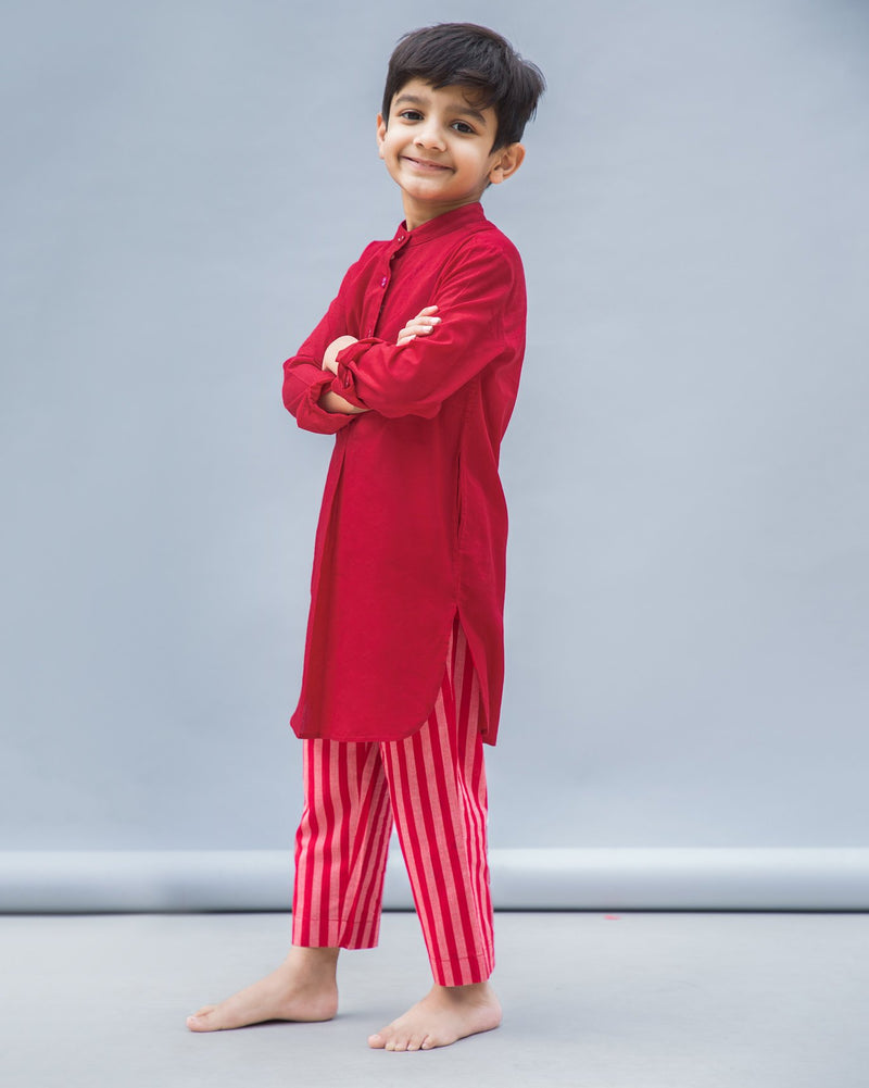 Little Stripe Basic Pyjamas